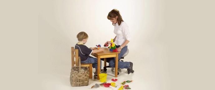 Bambach Saddle Seat for Kindergarten Kids and Teachers