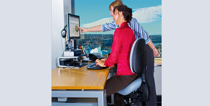 Bambach Saddle Seat ergonomic office chair