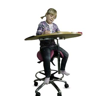 Young student - Salli Saddle Chair
