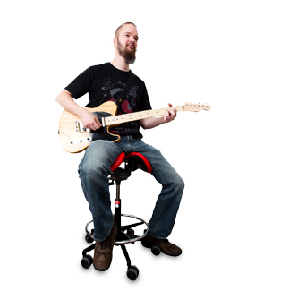 Guitar player - Salli Saddle Chair