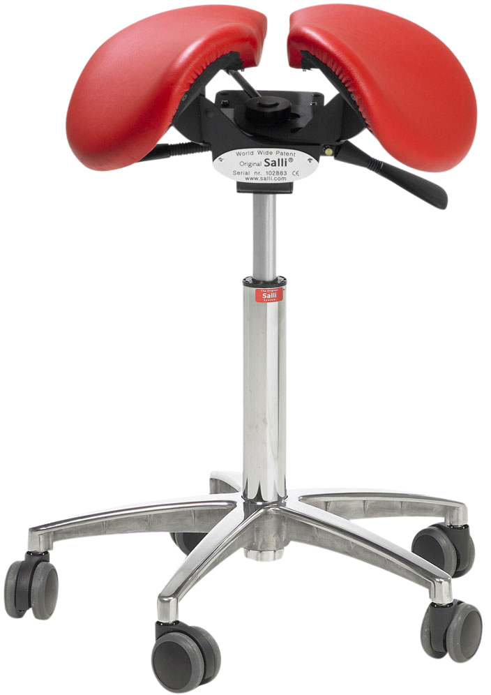Salli Multiadjuster - front view red