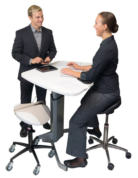 Office work - Salli Saddle Chair